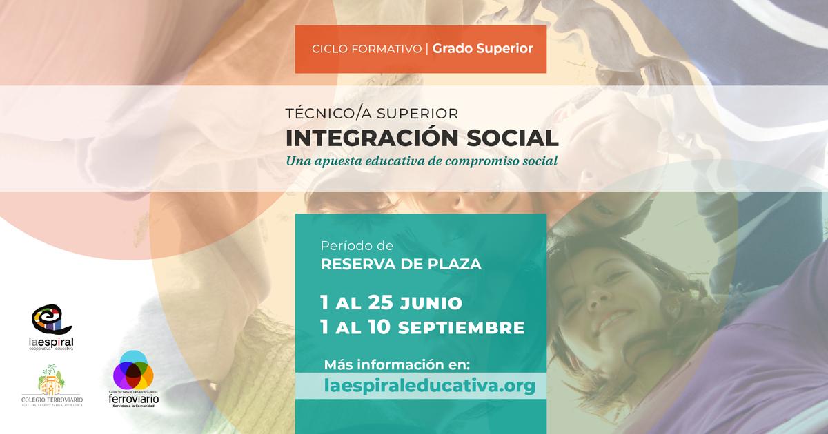 Ciclo Grado Superior En Integración Social La Espiral